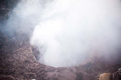 volcan masaya in 2013 when it was less active