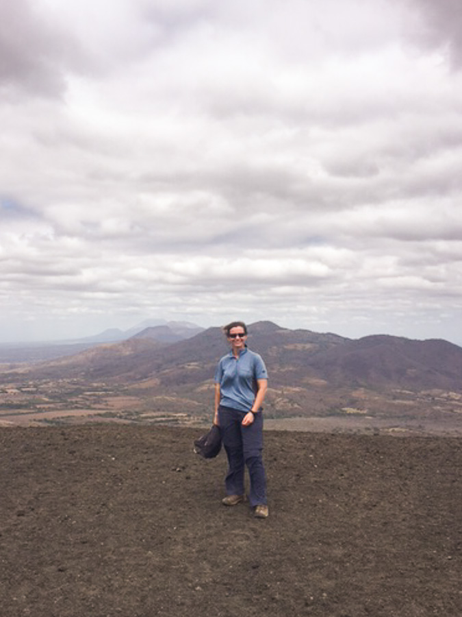 ring of fire cerro negro leon
