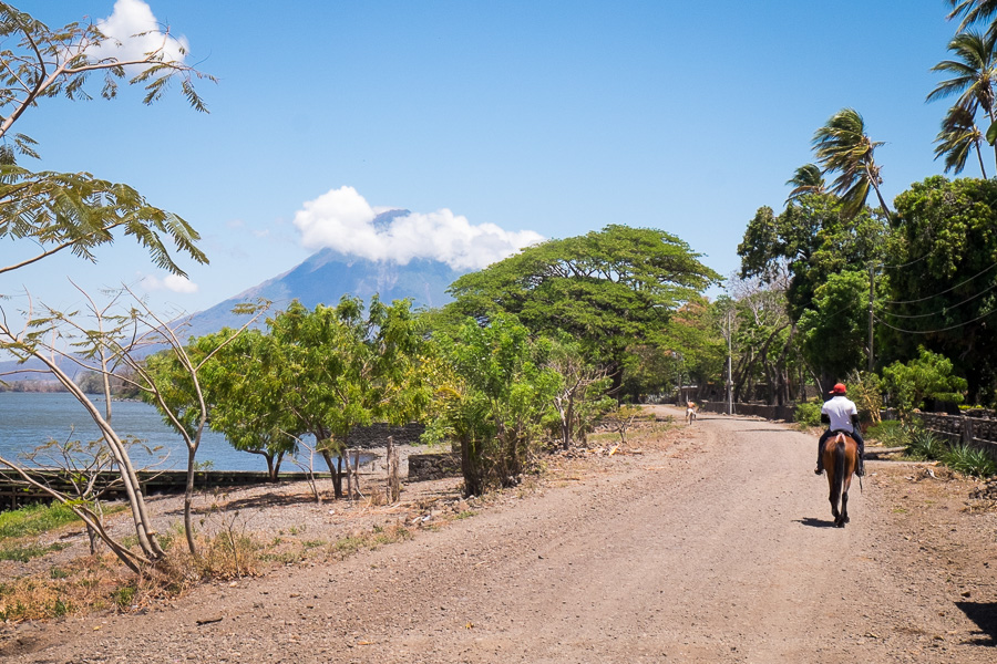 horse riding ometepe