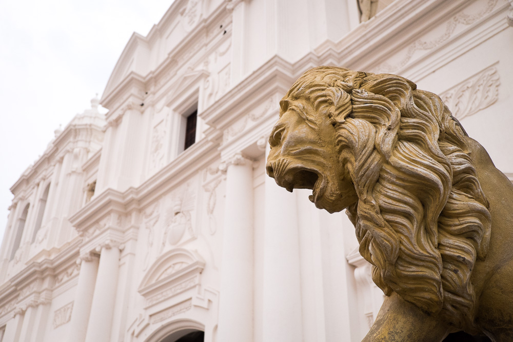 León Cathedral lions
