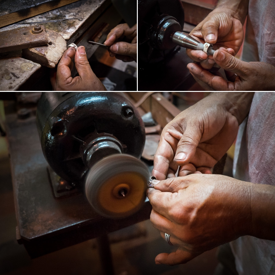 NicaAsi Silversmith Ring Workshop