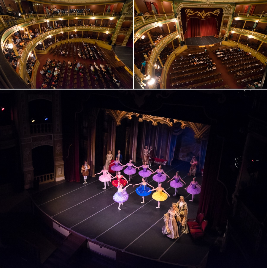 Russian Ballet at Santa Ana Theatre El Salvador