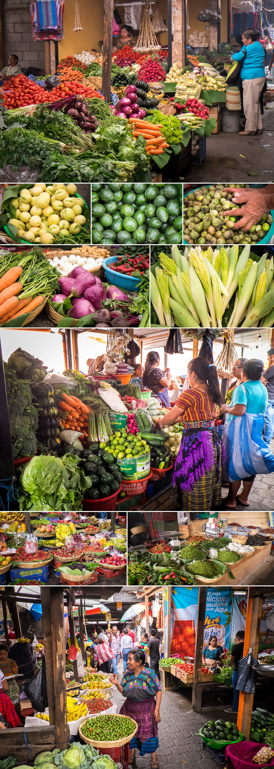 antigua market - food