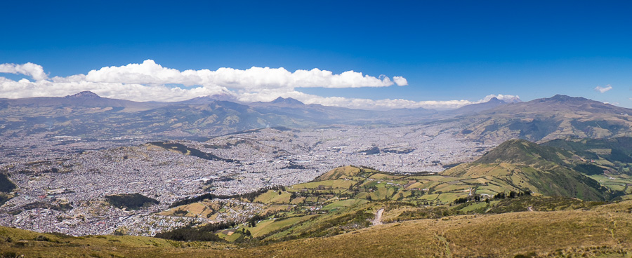 Quito teleférico view