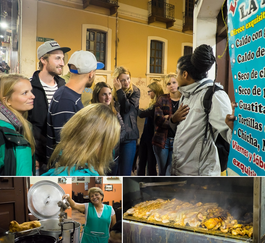 Ecuadorian Street Food Tour