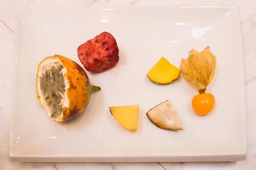 Cusco Culinary cooking class - fruit tasting