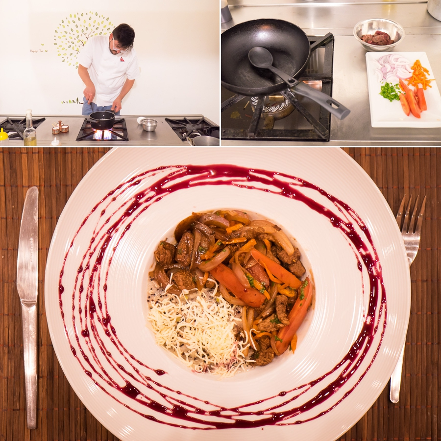 Cusco Culinary cooking class - lomo saltado