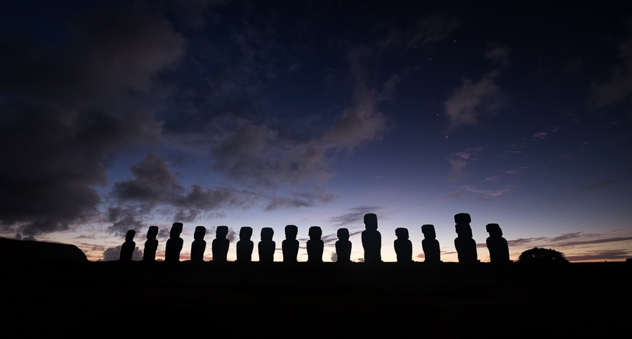 Ahu Tongariki and the Southern Cross - Easter Island | Isla de Pascua | Rapa Nui