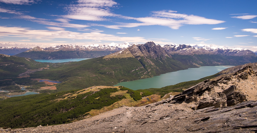 The incredible view! Cerro Guanaco trail - Tierra del Fuego National Park - Argentina