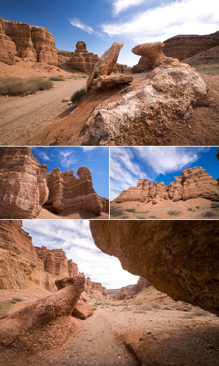 Charyn Canyon - Valley of Castles - Kazakhstan