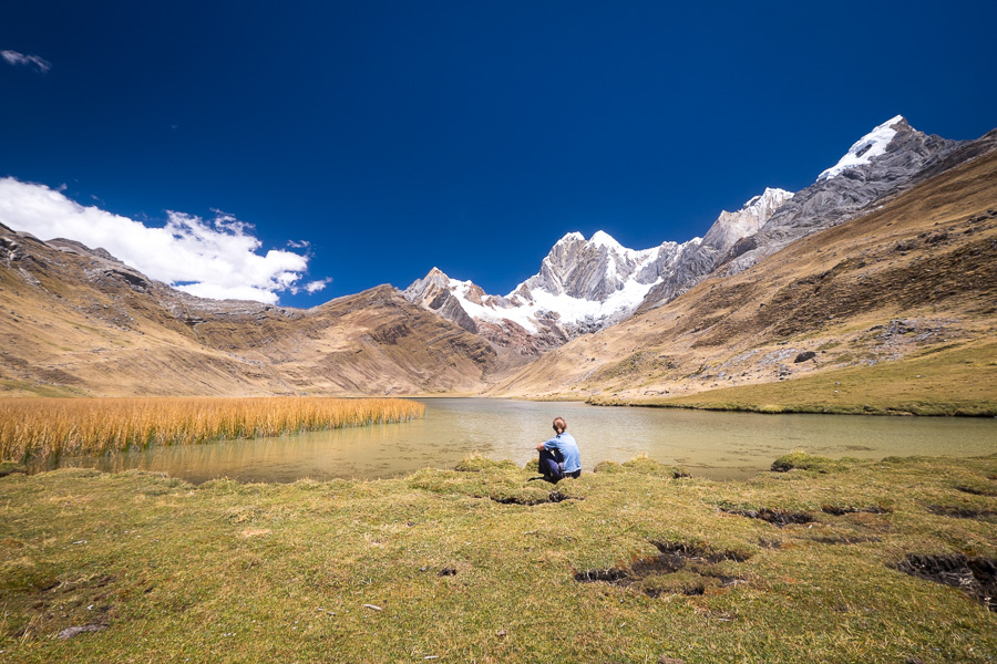 Enjoying the silence of Huayhuash
