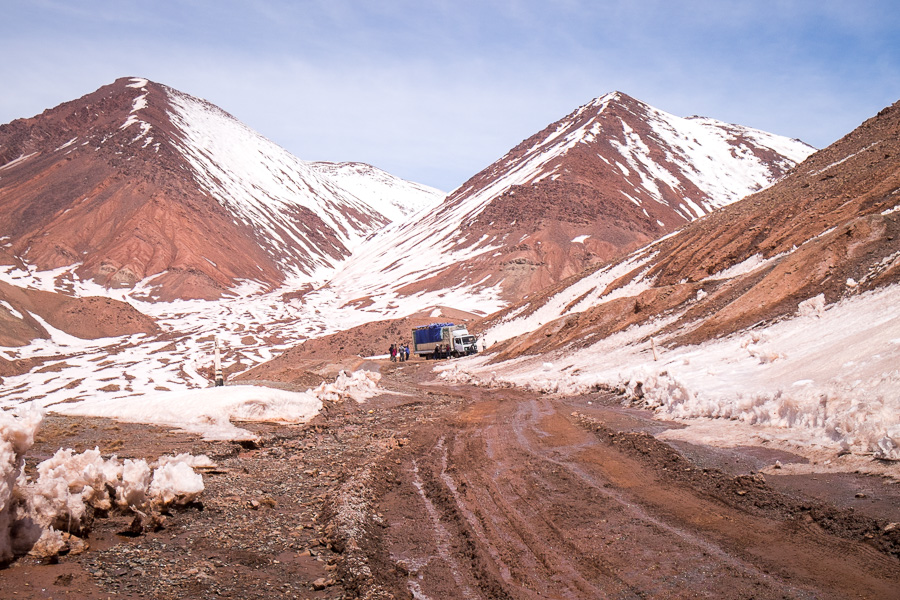Pamir Highway - no-mans-land between Kyrgyzstan and Tajikistan
