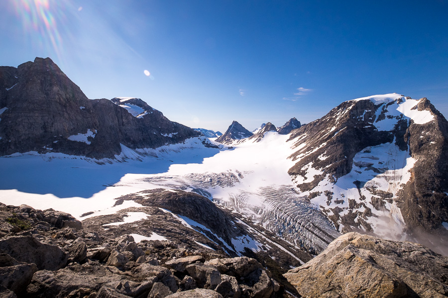 View from Tasiilaq Mountain Hut - Unplugged Wilderness - East Greenland