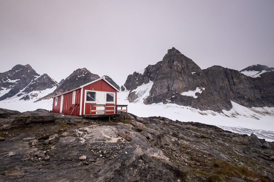 The Tasiilaq Mountain Hut and its surroundings