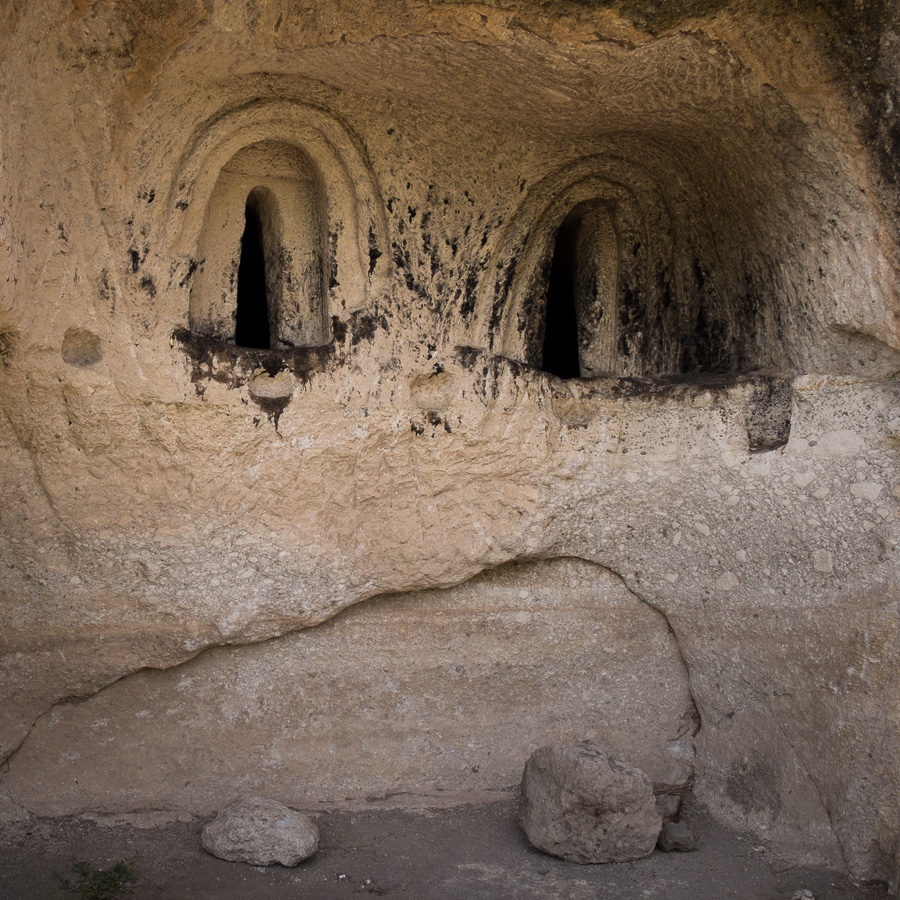 cave church of the Ananauri - Vardzia - Georgia