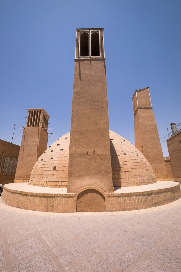 Water reservoir - Yazd old town - Iran