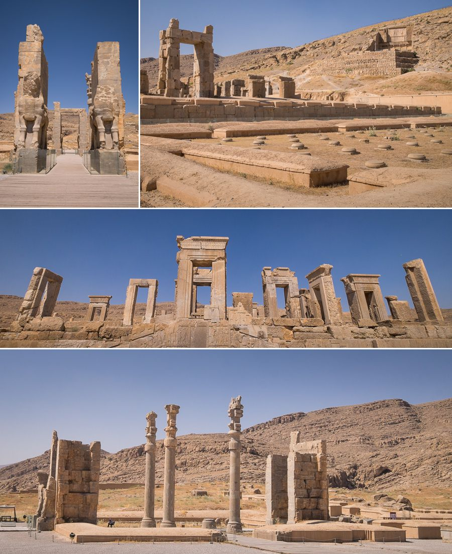 Gate of All Nations and Temples - Persepolis - Iran