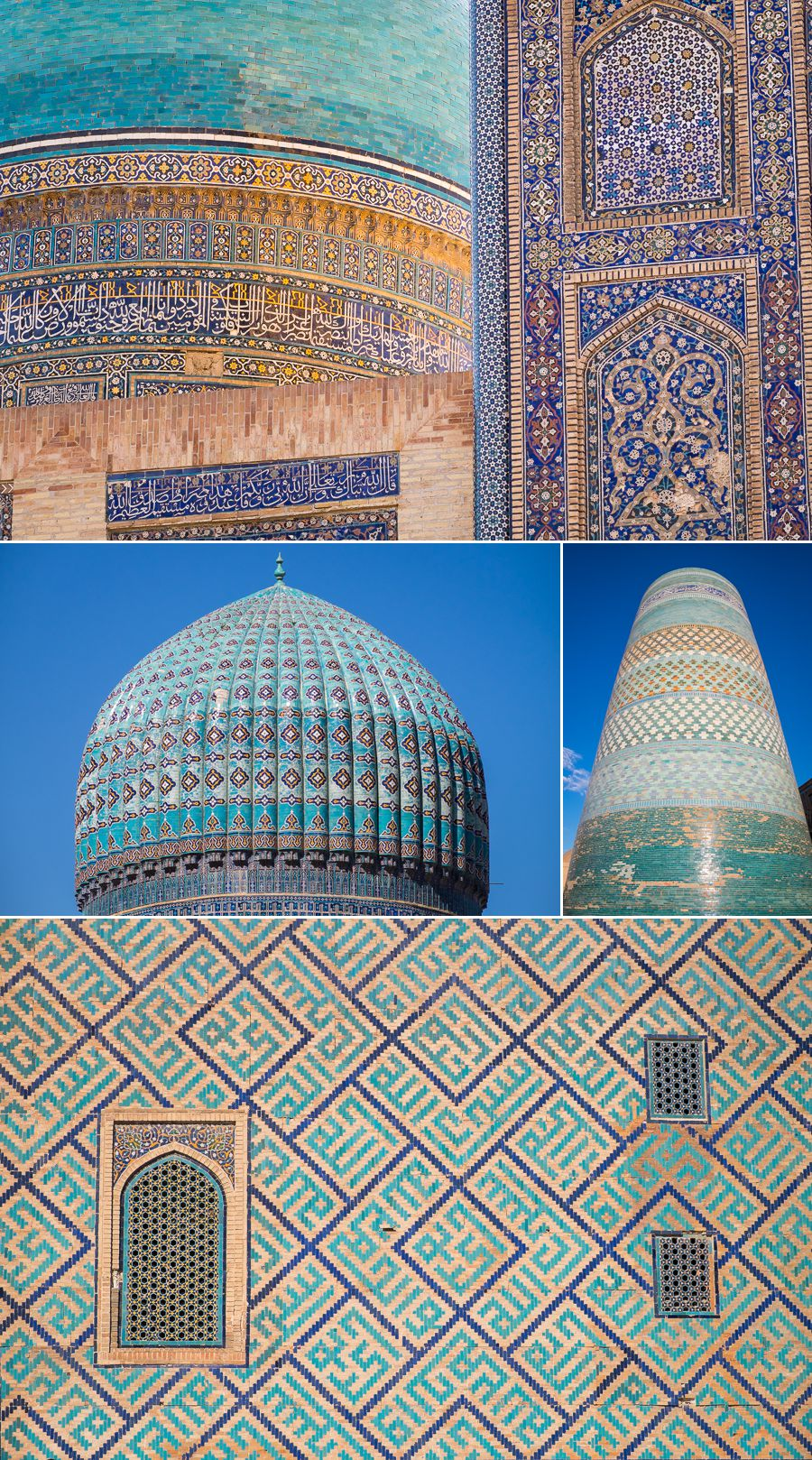 Land of blue and turquoise - Uzbekistan