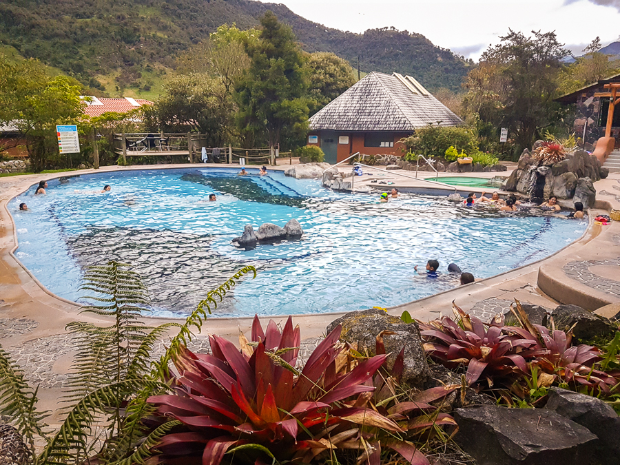 Balneario part of the Termas de Papallacta Hot Springs - Ecuador
