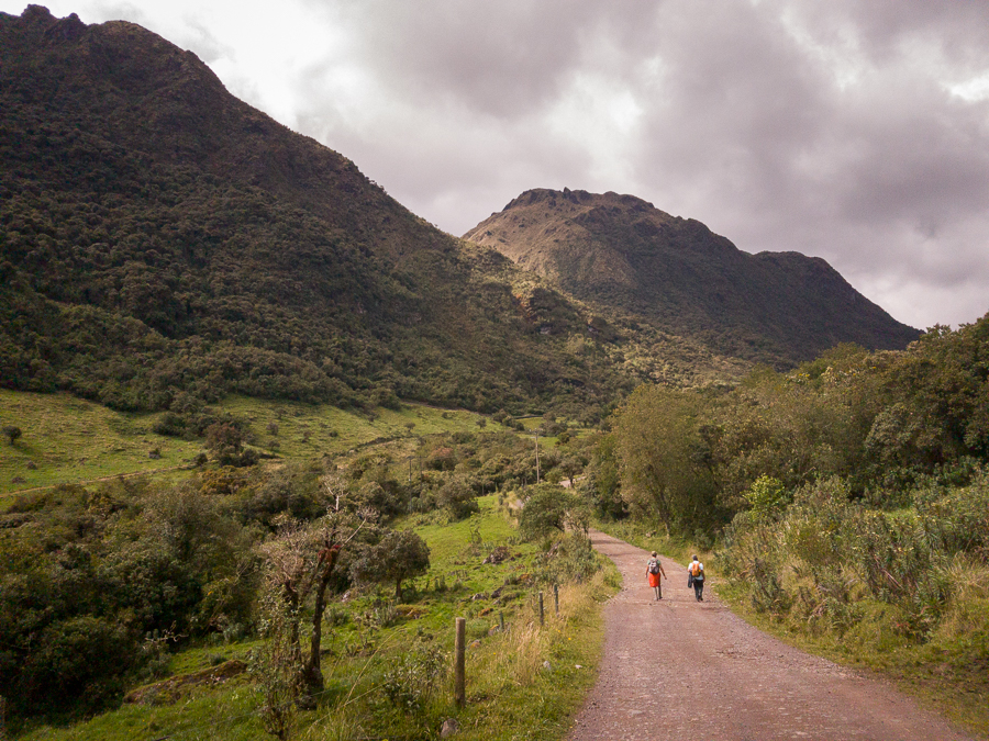 Hiking to Cayambe-Coca Ecological Reserve - Papallacta - Ecuador