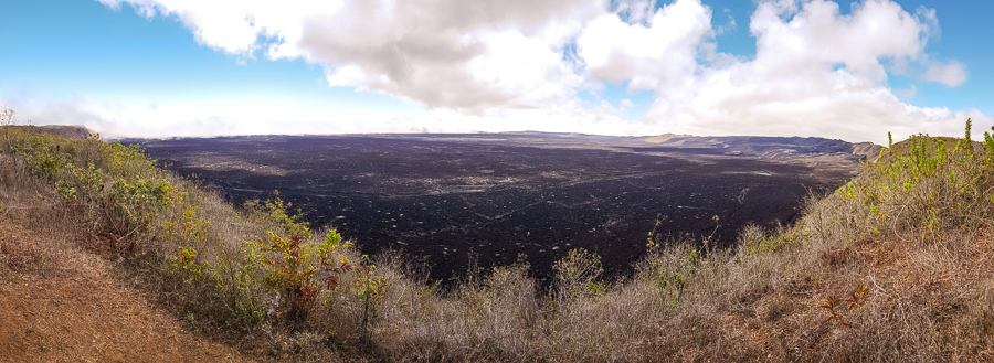 Sierra Negra caldera from the third viewpoint - Isla Isabela - Galapagos