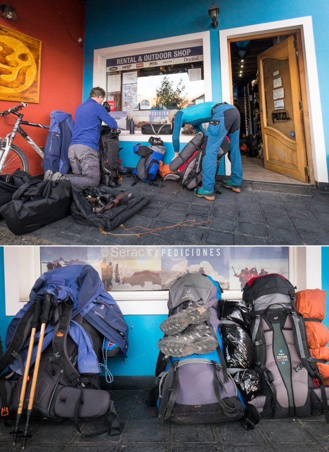 Packing and ready to go on the South Patagonia Icefield Expedition - Argentina